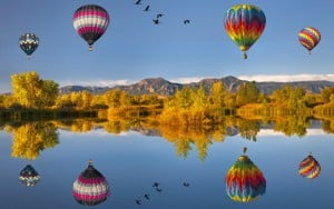 flying-air-ballons-reflections